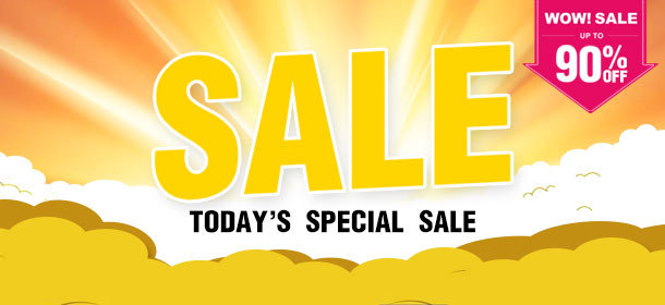 TODAY's SPECIAL SALE!