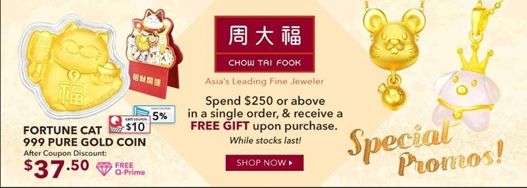 CHOW TAI FOOK OFFICIAL STORE