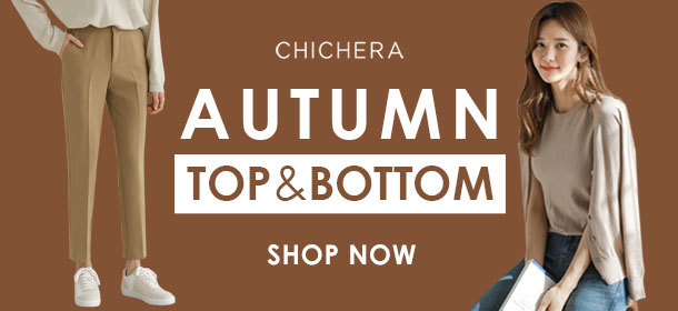 [CHICHERA] Autumn TOP & BOTTOM ★ Shop Coupon + Free Shipping