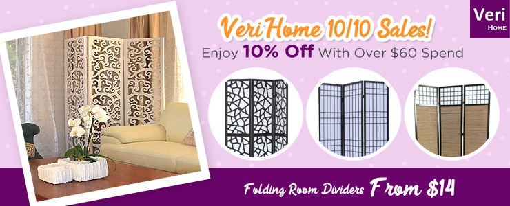 Veri Home 10/10 Sales 10% over $60 Spend