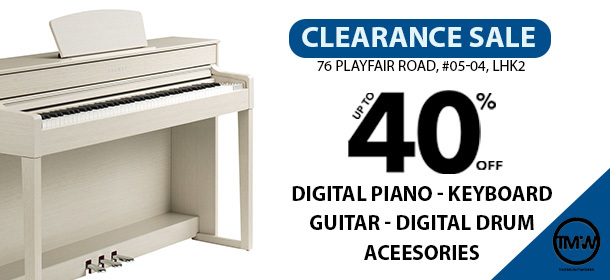 Clearance Sale - Digital Piano I Keyboard I Accessories