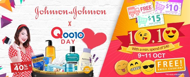 J&J Celebrates Qoo10's Day!!
