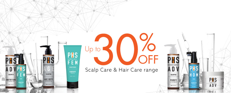 SCALP CARE & HAIR CARE RANGE