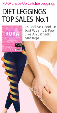 ★RUKA Shape Up Cellulite Leggings