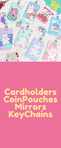 Cardholders Coin Pouches Keychains Mirrors