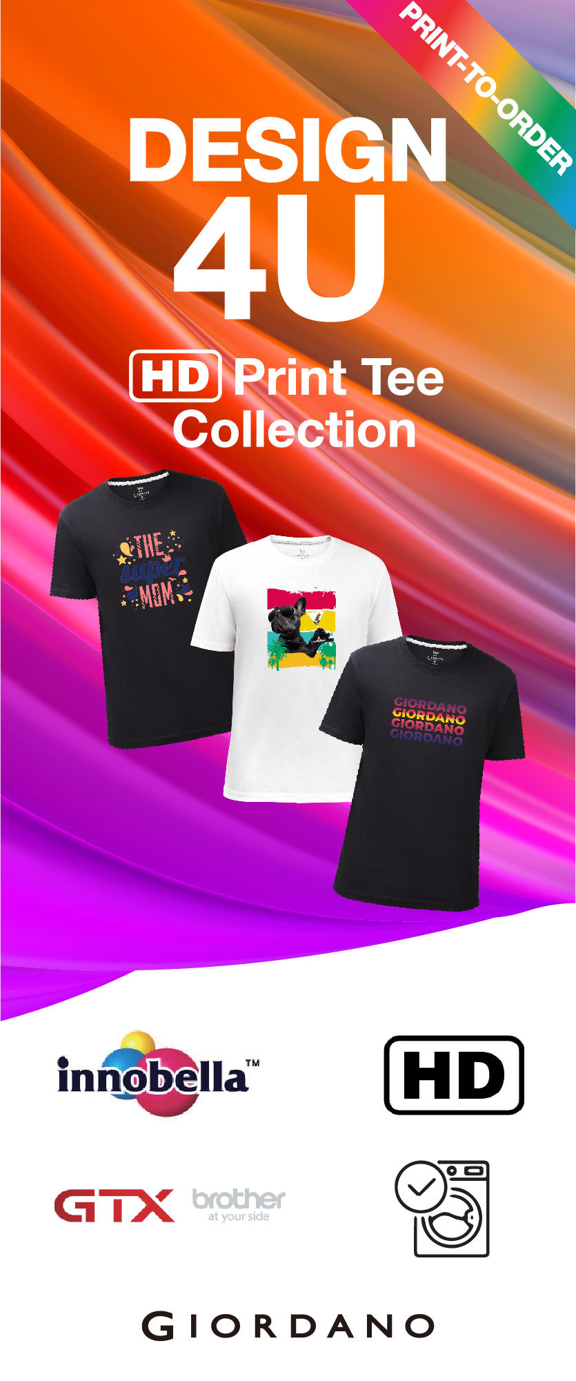 Giordano HD Print Tee Collection
