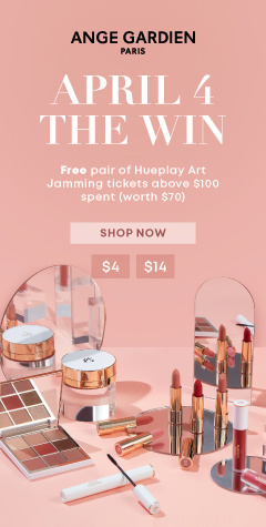 APRIL 4 THE WIN [$4, $40 Coupons!]