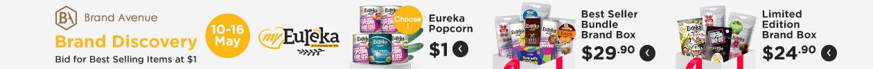 Brand Discovery (Eureka Popcorn)