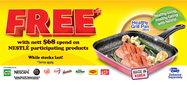 NESTLE FREE GRILL PAN PROMOTION