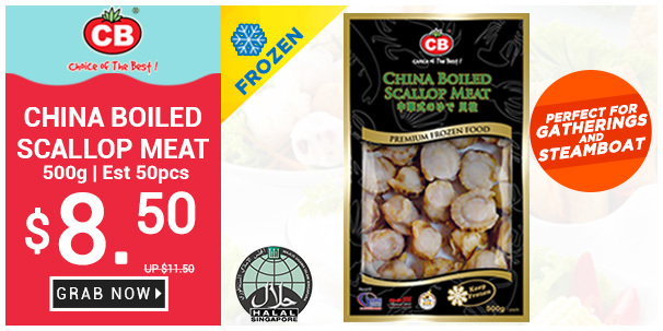 Delicious Scallop Meat at $8.50 Only!